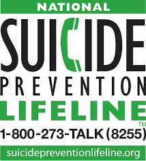 Suicide awareness lifeline. 18002738255