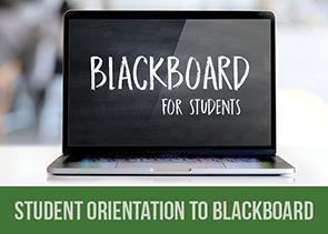 Blackboard orientation for Students