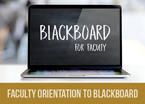 Blackboard orientation for faculty