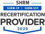SHRM-recert-provider-2020 logo