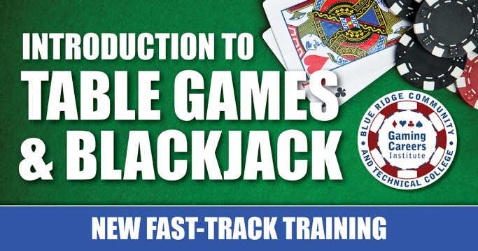 Intro to Table Games and Black Jack New Fast Track Training